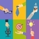 Business Hands Icons - GraphicRiver Item for Sale