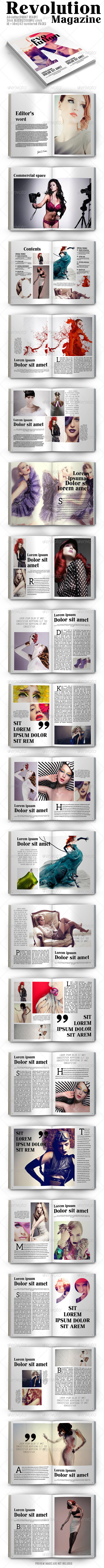 GraphicRiver Revolution Magazine 7864642