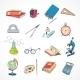 Education Icon Doodle Color - GraphicRiver Item for Sale