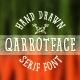 Qarrotface Handwritten Serif Font - GraphicRiver Item for Sale