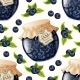 Blueberry Jam Seamless Pattern - GraphicRiver Item for Sale
