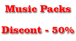 Musical Packs discount -50%