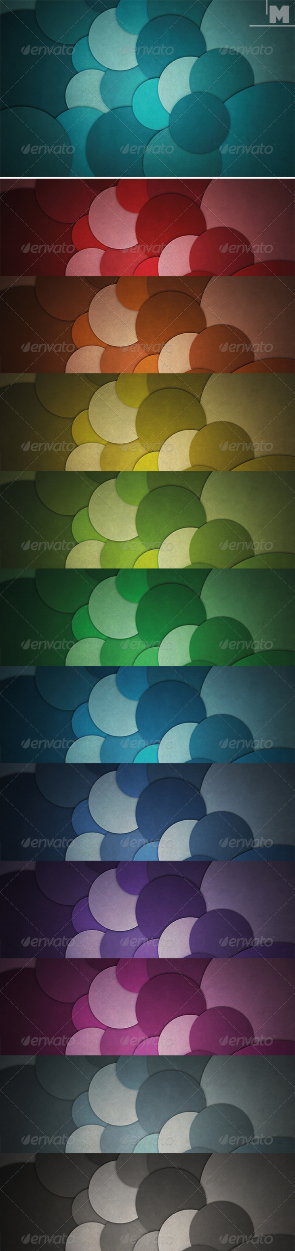 GraphicRiver Abstract Circles Backgrounds 7864843