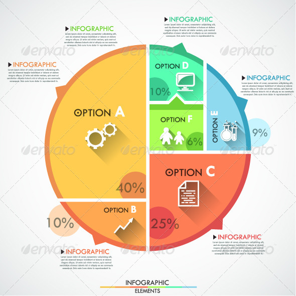 GraphicRiver Flat Infographic Options Template 7865171