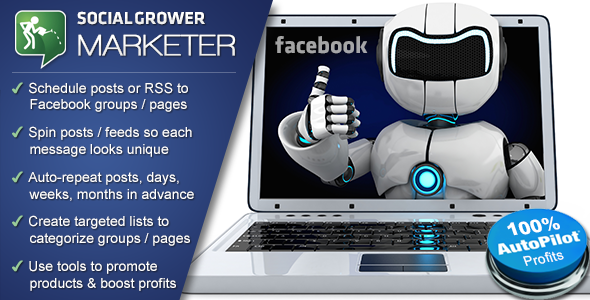 CodeCanyon Social Marketer Facebook Viral Marketing App 7841610