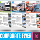 Transport Agency Corporate Flyer - GraphicRiver Item for Sale