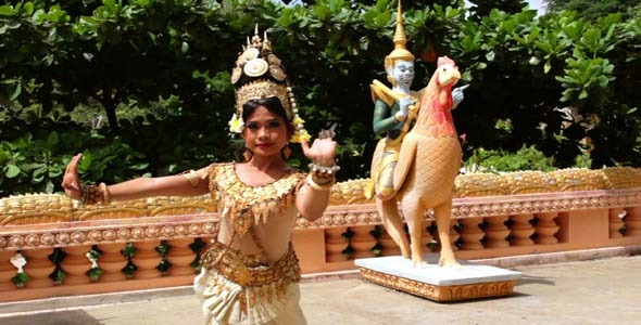 Apsara Dancer Beautiful Female In Asian Mythology
