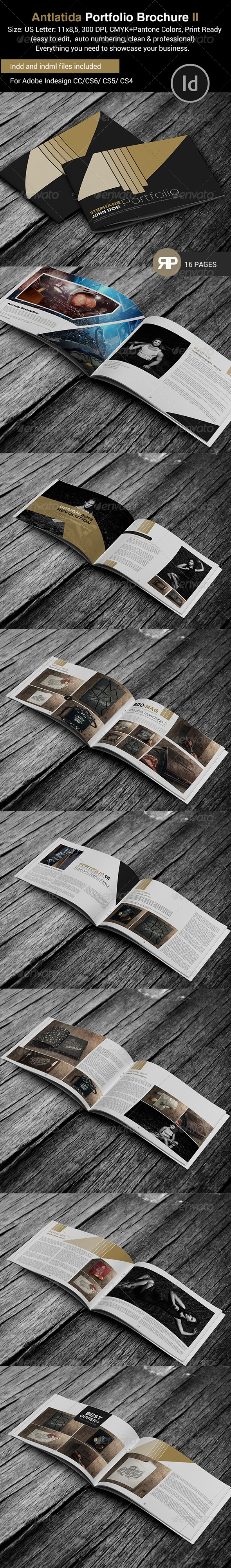 GraphicRiver Antlantida Portfolio Brochure Template 7865969