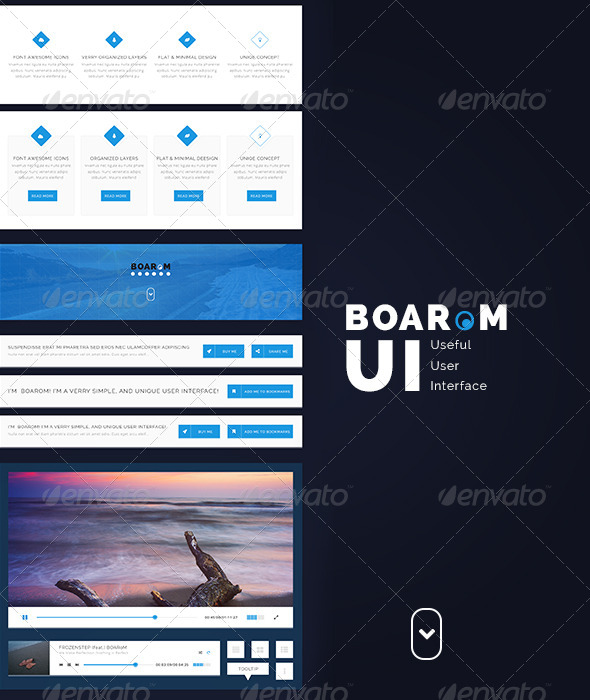 Boarom UI Very Useful User Interface