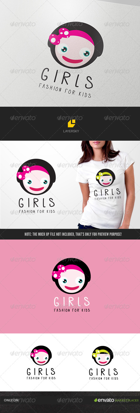 GraphicRiver Girls Fashion 7867063