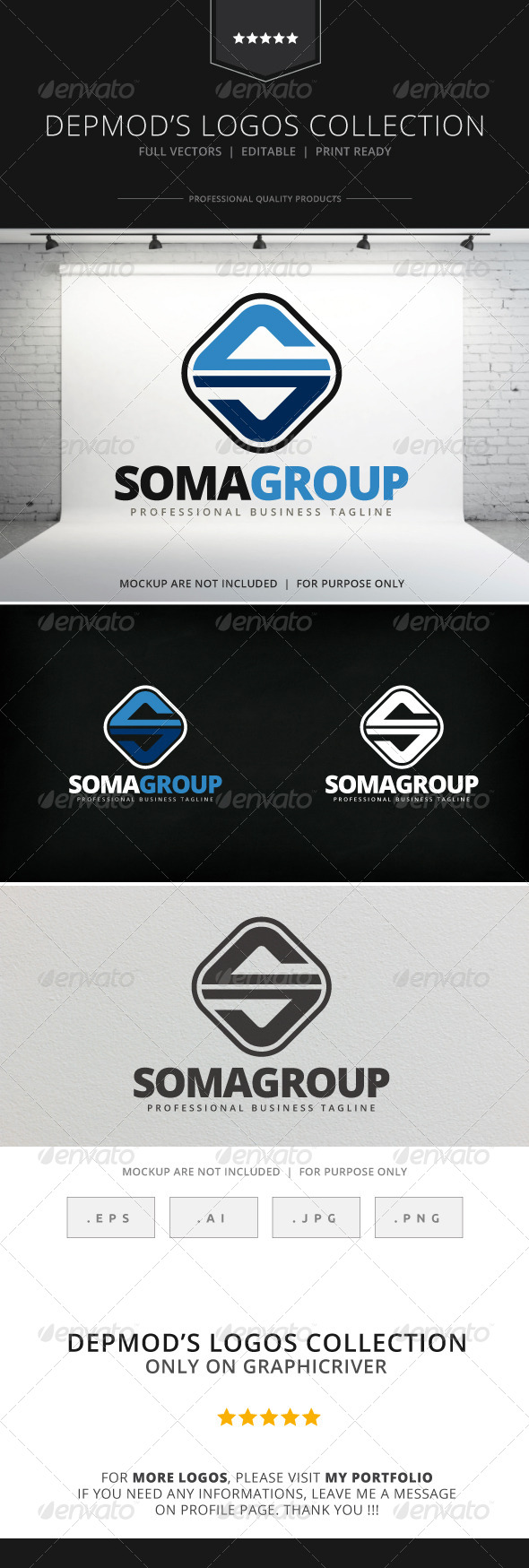 GraphicRiver SomaGroup Logo 7867402
