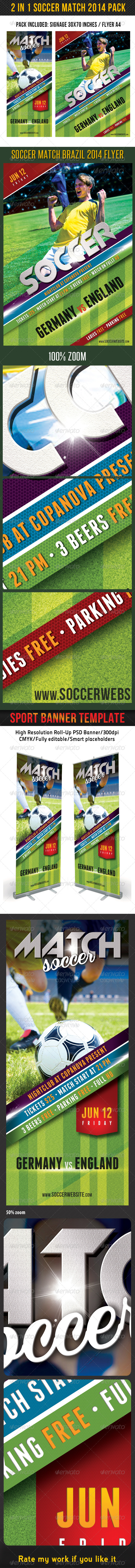 GraphicRiver Soccer Tournament 2014 Pack V3 7867534