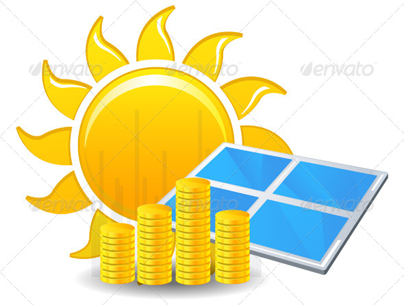GraphicRiver Making Money with Solar Energy 7867599