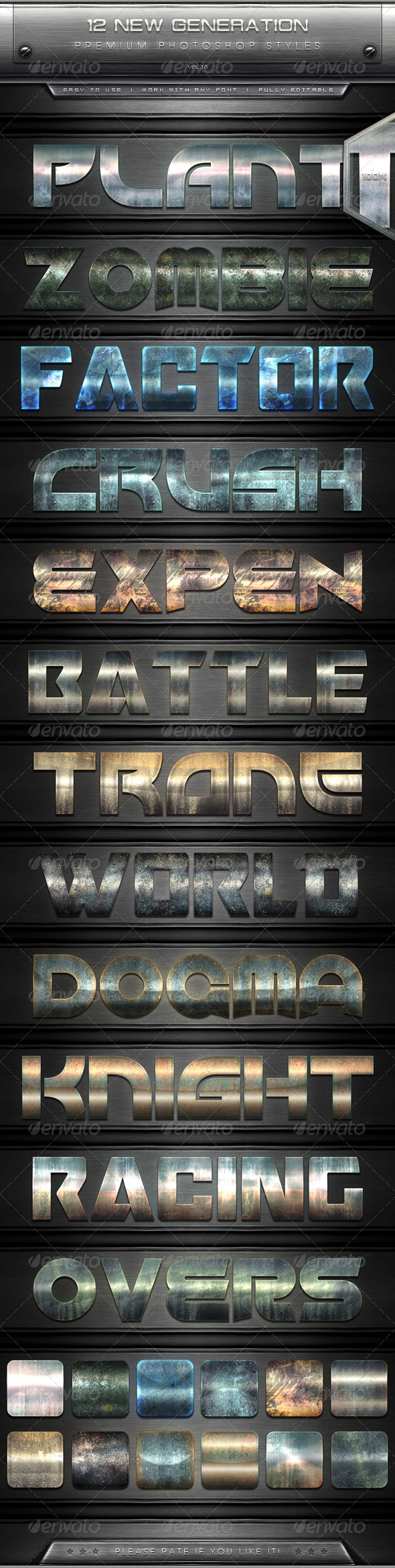 GraphicRiver 12 New Generation Text Effect Styles Vol.10 7867793