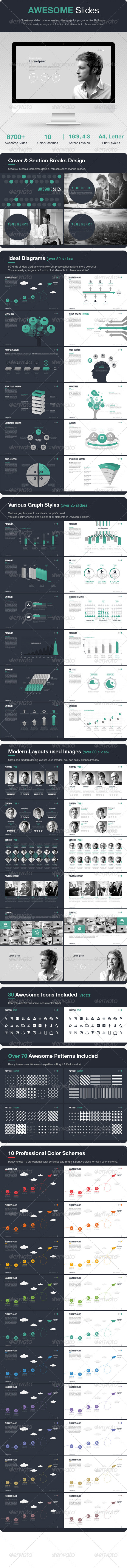 GraphicRiver Awesome Slides 7827016