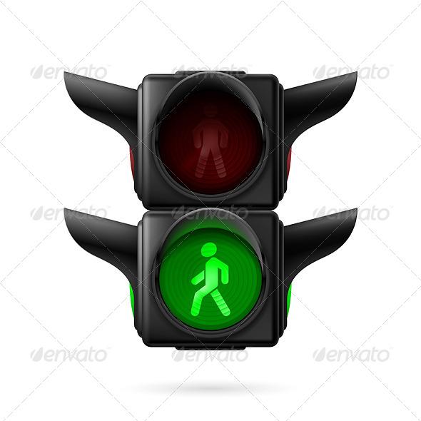 GraphicRiver Pedestrian Traffic Light 7868205