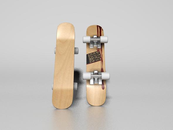 3DOcean skateboard 7868315