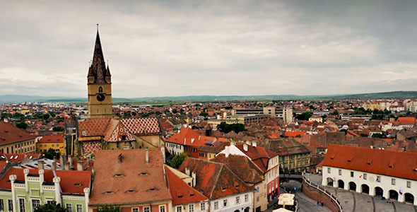 Medieval City View