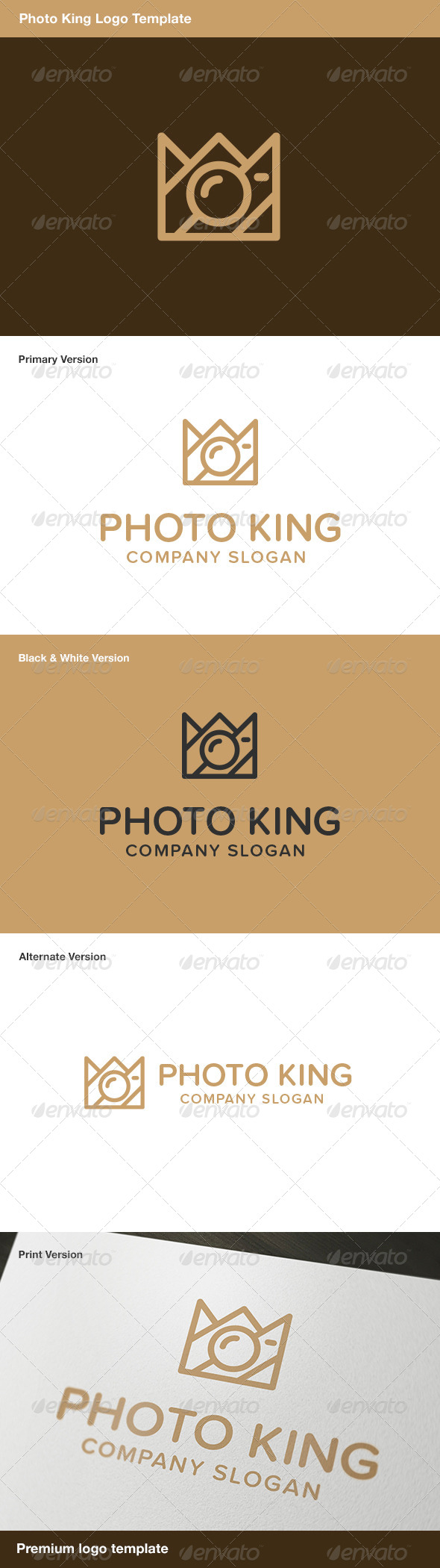 GraphicRiver Photo King Logo 7868819