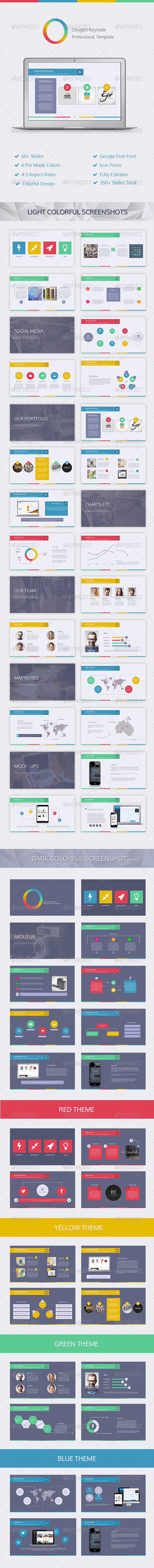 GraphicRiver Oxygen Keynote Template 7868872
