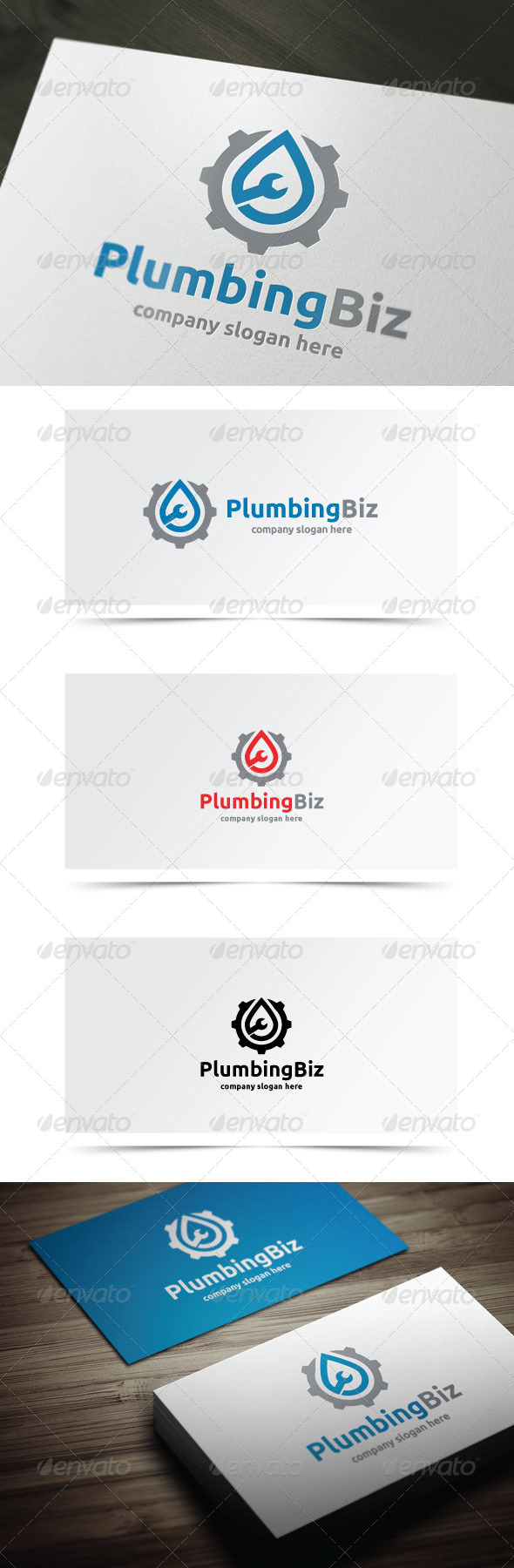 GraphicRiver Plumbing Biz 7868881
