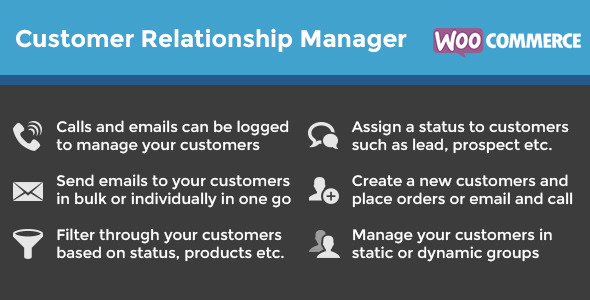 WooCommerce Customer Relationship Manager
