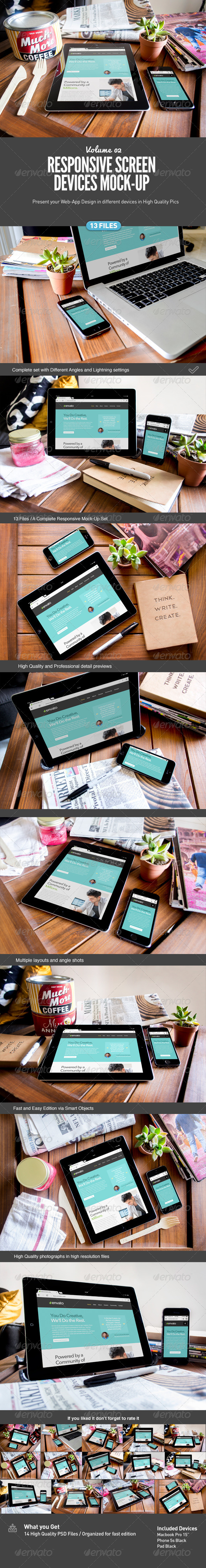 GraphicRiver Responsive Screens Device Mock-Up 7869497
