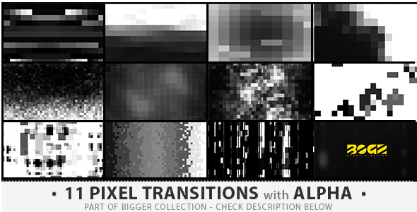 Pixel Transitions Pack