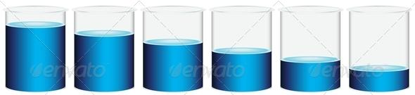 GraphicRiver Six Beakers 7869755