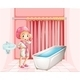 Girl in the Bathroom - GraphicRiver Item for Sale