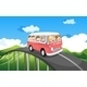 School bus with kids - GraphicRiver Item for Sale