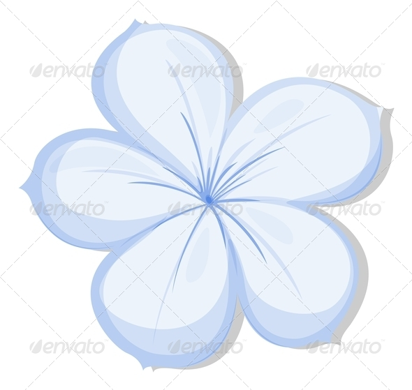GraphicRiver Five-petal flower 7870005