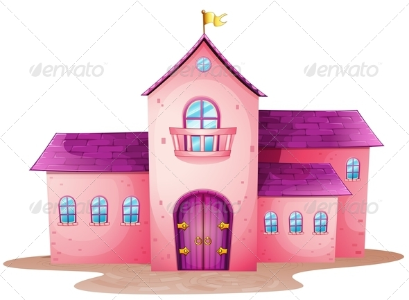 GraphicRiver Pink castle 7870018