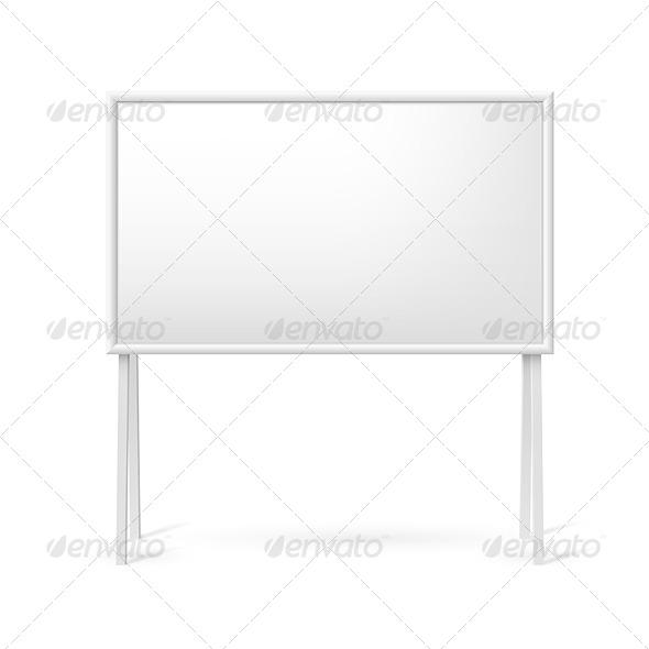 GraphicRiver Blank White Board 7870252