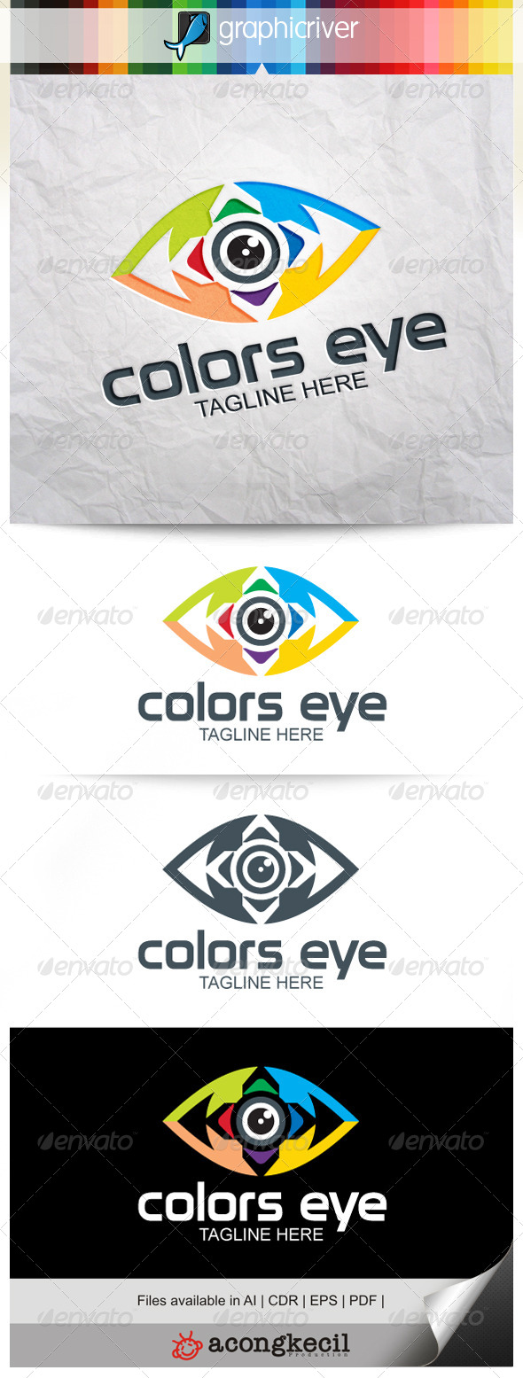 GraphicRiver Colors Eye V.10 7871333