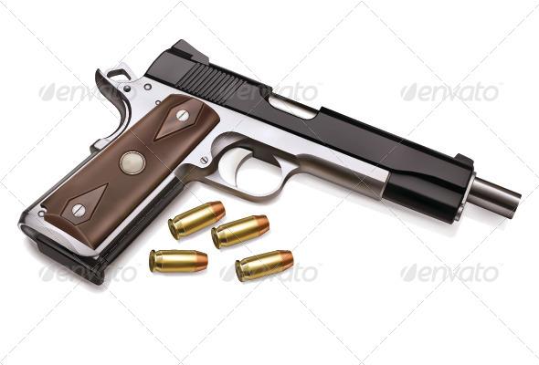 GraphicRiver Gun 7871350