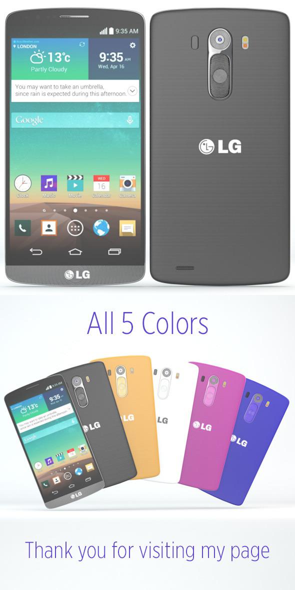 3DOcean LG G3 7871751