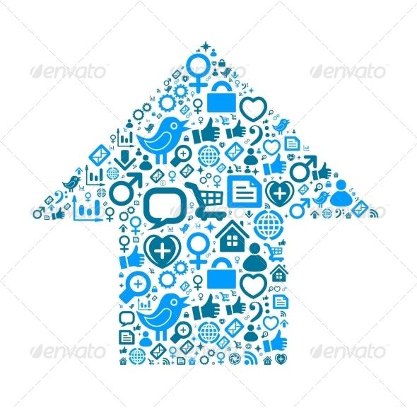 GraphicRiver Social Media Icons Set 7871794