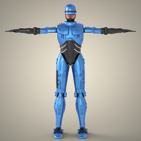 3DOcean Superhero Robocop 7871801