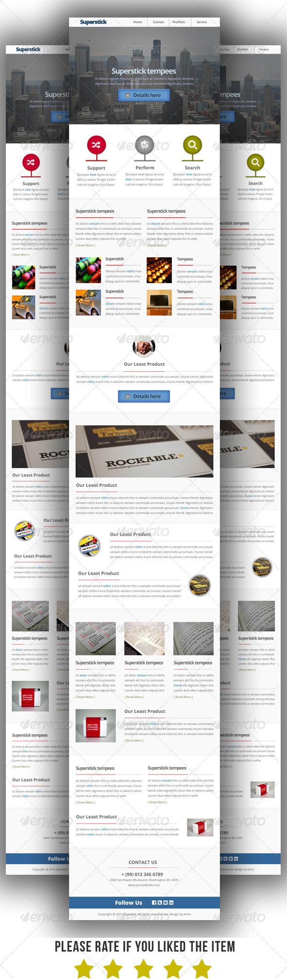 GraphicRiver Multipurpose E-Newsletter Template V4 7872561