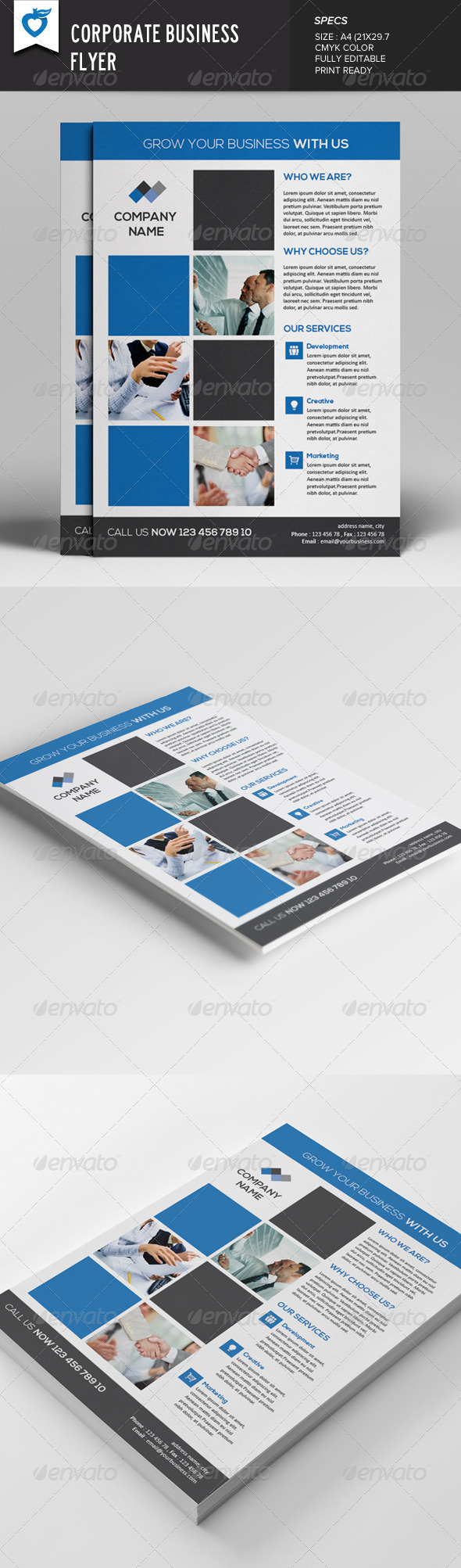 GraphicRiver Corporate Business Flyer v5 7872565