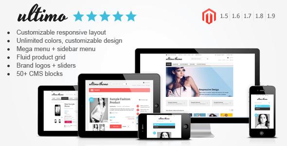 Ultimo - Fluid Responsive Magento Theme - Magento eCommerce