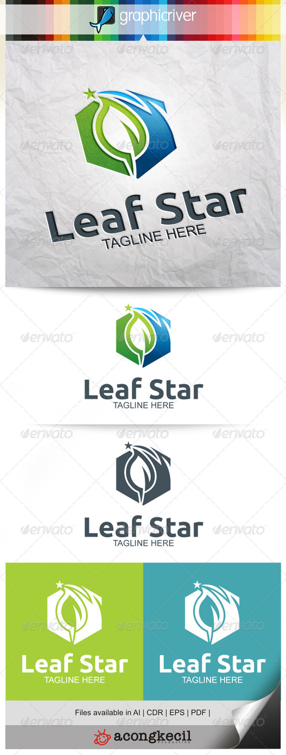 GraphicRiver Leaf Star V.3 7873344