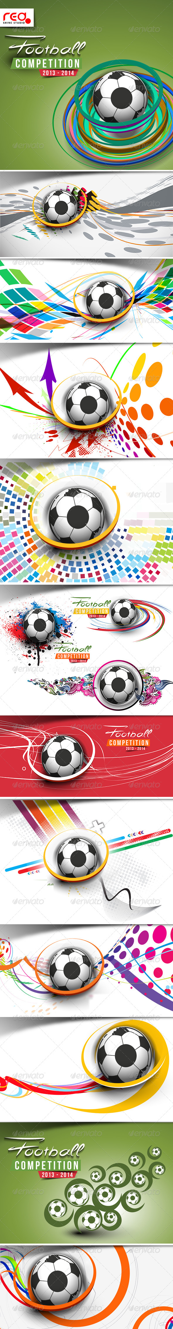 GraphicRiver Football Background 7873565