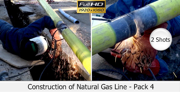 Construction of Natural Gas Line Pack 4