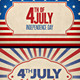 July 4th - GraphicRiver Item for Sale
