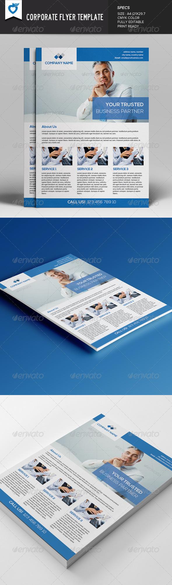 GraphicRiver Corporate Flyer v3 7873943
