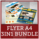 3 in 1 Corporate Product Promotion Flyer Bundle - GraphicRiver Item for Sale