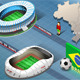 Isometric Stadium of Natal and Rio De Janeiro - GraphicRiver Item for Sale