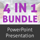 4 in 1 PowerPoint Presentation Bundle - GraphicRiver Item for Sale